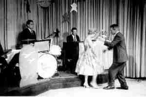 Marge and Ed Kenyon dancing tango