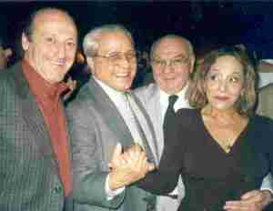 Miguel Angel, Ricardo, Alito and Ivonne Laens in Leonesa (Aug 30, 2001)