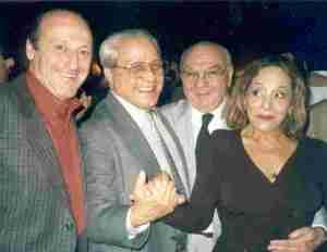 Miguel Angel, Ricardo, Alito and Ivonne Laens in Leonesa (Aug 30, 2001)