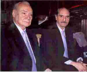 Alberto Demaria & Enrique Seone, founders of Orquesta Tipica Gente de Tango