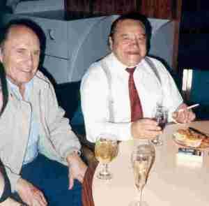 Robert Duvall and Pepito at Northwestern