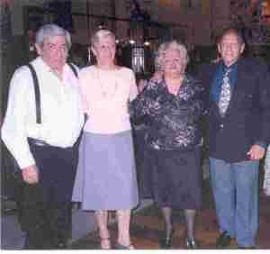Noche de Milongueras in Salon Canning (Sept 21, 2004) Pocho, Ada, Nely and Coco