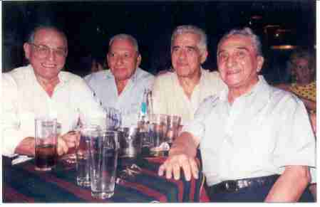 Julio, Victor, Roberto and Jorge in El Arranque
