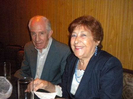 Dina Vivanco y Roberto Harambure