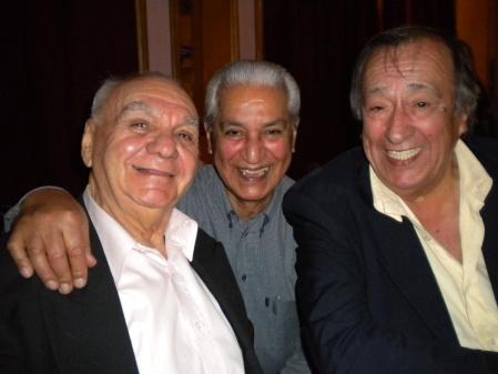 Alito Candamil, Hugo Soto, Osvaldo Centeno
