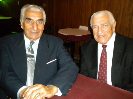 Juan Topalian and his brother Carlos in La Milonga de Elsita