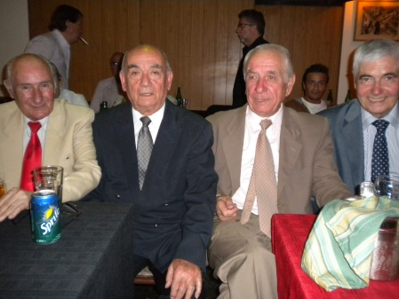 Antonio Cejas, Julio Alejo, Gregorio Gricajuk, Alberto Delcueto