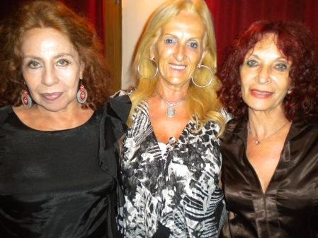 Norma Sala, Elsa Maria, and Adriana Lamas in Lo de Celia Tango Club