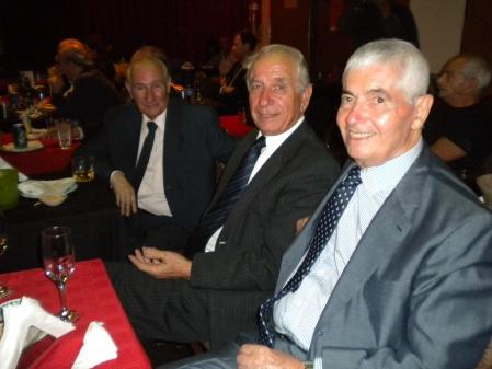 Antonio Cejas, Gregorio Grikajuk, Alberto Delcueto