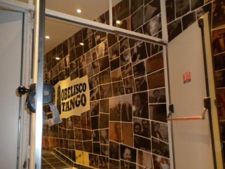 a peek inside Obelisko Tango