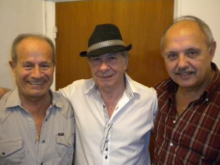 Tito, Carlos & Pichi - first anniversary of Cumbre de Tango