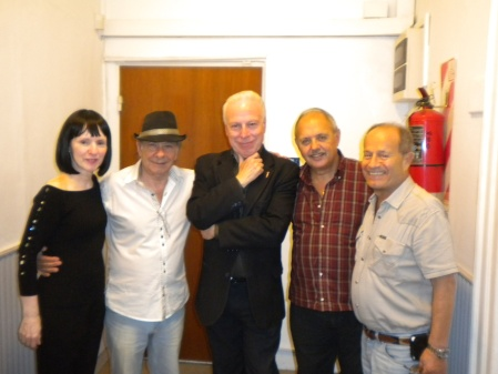 April 28, 2013 - one year of Cumbre de Tango on Mundo Sur FM