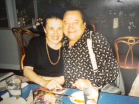 Maria Bastone and Pepito Avellaneda