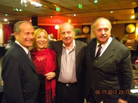 Tito, Celia, Carlos and Pichi