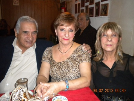 Tito Ortega, Lala and Susana in Lo de Celia