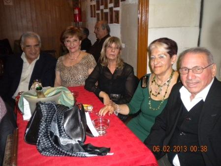 Tito Ortega, Lala, Susana, Marta y Jose Maria Velazquez