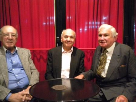 Juan Panuccio, Mario Allan Candamil, Luis Pino