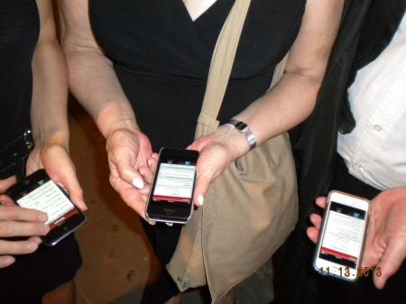 checking the Hoy Milonga app