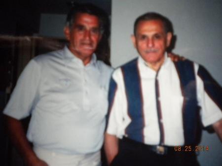 Rulo (Norberto Aguello) and Julio Manuel Ale