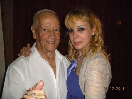 Mario y Anabelle (de Munich, Alemania) en Lo de Celia Tango Club  12 enero 2014