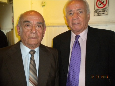 Julio and his brother Carlos Alberto