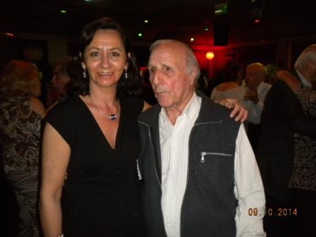 Graciela Pescetto y Ismael Heljalil en Lo de Celia 10 Sept 2014