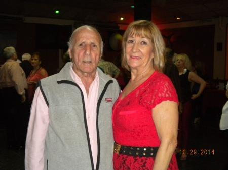 Ismael Heljalil y Delia en Lo de Celia 10-29-2014