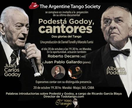 Podesta Godoy, cantores