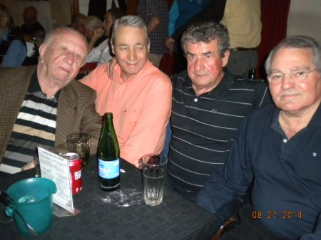 Jorge, Pocho, Luis , El Gallego