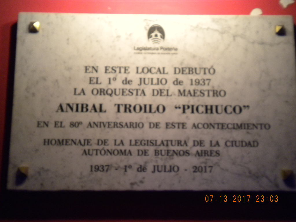 Orquestas De Tango Chamuyo House Of Buenos Aires Is This Diagram For The Dance Steps I Knew Didnt Want To Miss Night At Marabu Which Years Later Was Known As Maracaibo Purpose Pay Tribute Anibal Troilo Who Debuted His